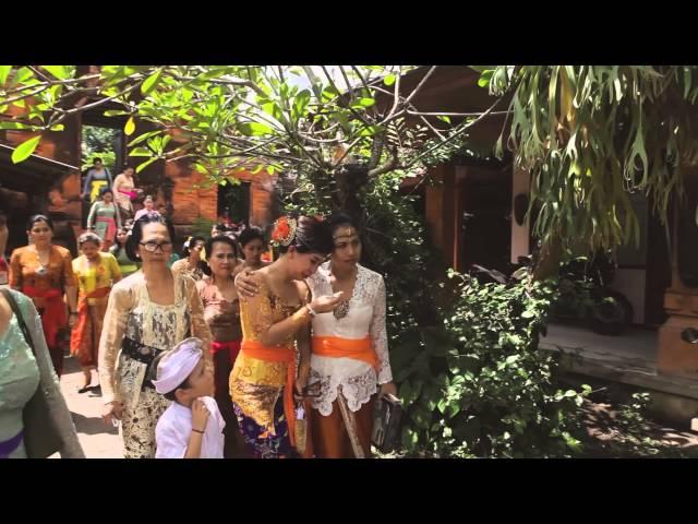 PJ + MANON engagement & balinese ceremonny