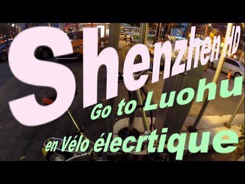 Shenzhen HD en velo éléctrique vers Luohu par GLG