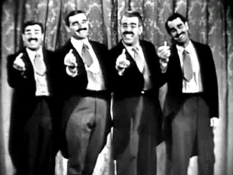 Groucho Marx - Four Grouchos Sing for Lucky Strike Cigarettes