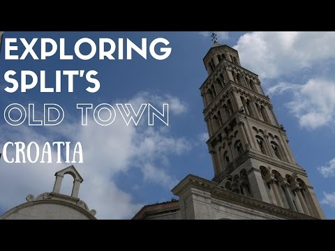 Exploring Split's Old Town, Croatia - Weekly Travel Vlog 2
