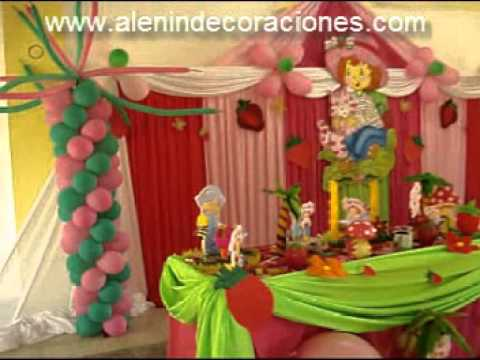 DECORACION - FRUTILLITA.wmv Videos De Viajes