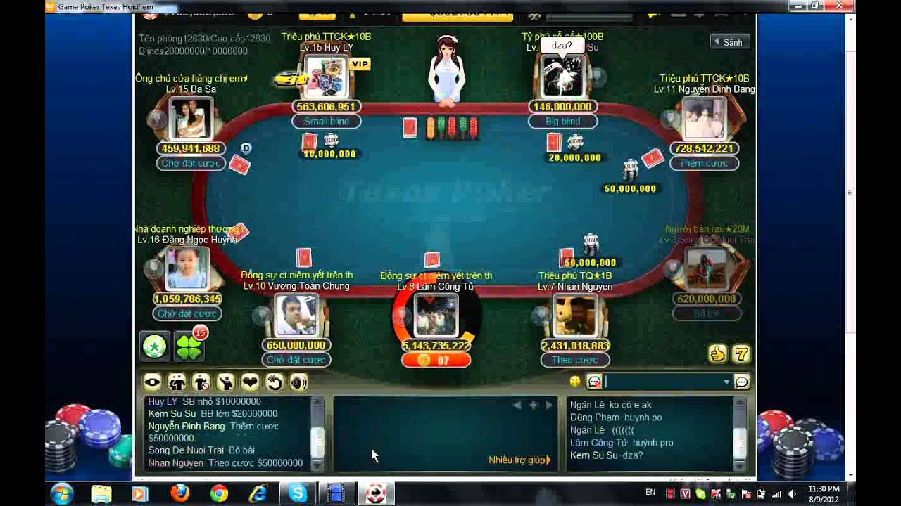 poker texas hold'em boyaa vietnam - YouTube