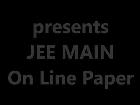 JEE MAIN (On Line Paper Date 09/04/2016) By www.einsteinclasses.com