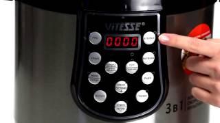 Видеообзор мультиварки Vitesse VS 3006