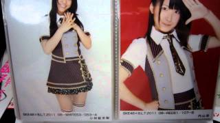 この中からお願いします。由麻奈、鬼頭、若林の生写真をたくさん持ってる方、Kでも買いたいんでお願いします。
