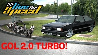 Live For Speed  - Gol Quadrado AP 2.0 Turbo FORJADO! (G27) #7