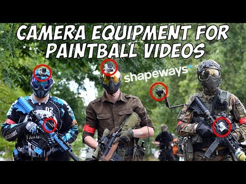 Camera Equipment For Paintball Videos