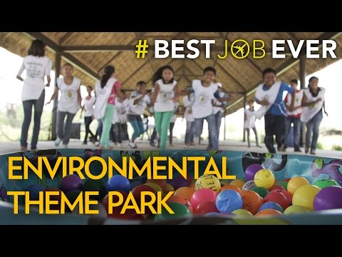 "Her ""Classroom"" is an Environmental Theme Park | Best Job Ever"
