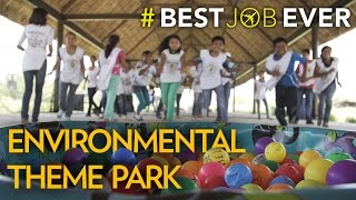 Her  Classroom  is an Environmental Theme Park   Best Job Ever