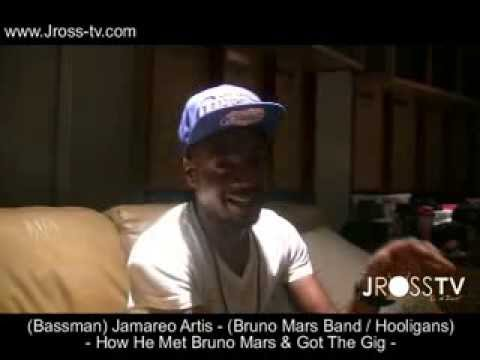 "James Ross @ (Bassman) Jamareo Artis - ""How He Met Bruno Mars & Got The Gig"" - www.Jross-tv.com Mp3"