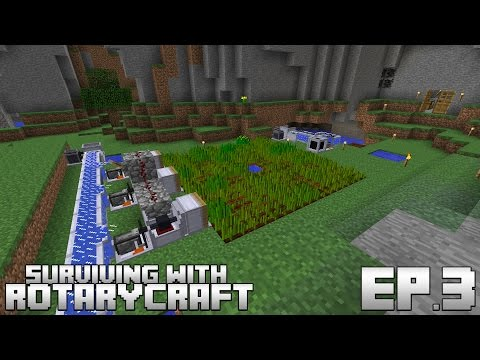 Surviving With RotaryCraft :: Ep.3 - Automatic Canola Seed Farm