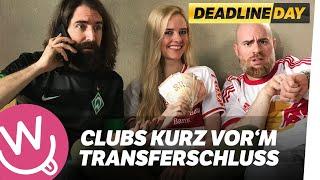 Bundesliga-Clubs kurz vor Transferschluss