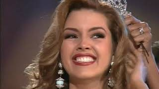 CROWNING MOMENT: Miss Universe 1996