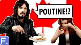Irish People Taste Test Canadian Foods