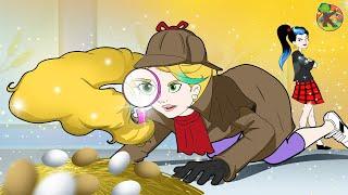 ربانزل المحققة | الحلقة 1 ( Rapunzel )  مغامرات ربانزل KONDOSAN قصة رسوم متحركة  فيلم كرتون