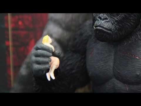King Kong S.H.Monsterarts Bandai Action Figure Unboxing