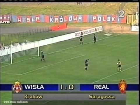 2000 September 28 Wisla Krakow Poland 4 Real Zaragoza Spain 1 UEFA Cup