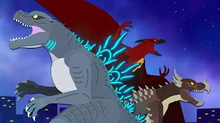 Godzilla: Lord of The Galaxy | EPISODE 1 | DinoMania - animated movie