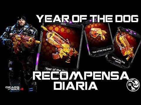 Year of the Dog | HAMMERBURST (Recompensa diaria)