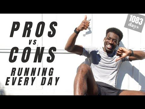 pros and cons of running every day | run streak day 1083