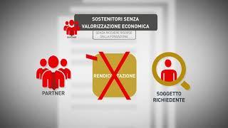 6. VIDEO TUTORIAL Partner sostenitore Sostenitore senza valorizzazione economica