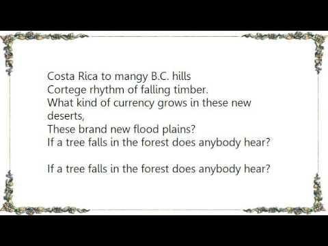 Bruce Cockburn - If a Tree Falls Lyrics