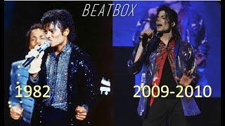 Michael Jackson BEATBOX EVOLUTION (1982-2010) l KING OF PERFECTION