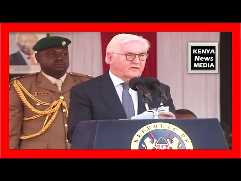 Frank-Walter Steinmeier speech at Kiambu Institute of Science and Technology (KIST)