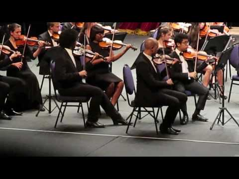 Light Calvary Overture by Cape Philharmonic youth orchestra.