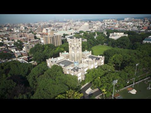 Aerial Tour of Fordham University