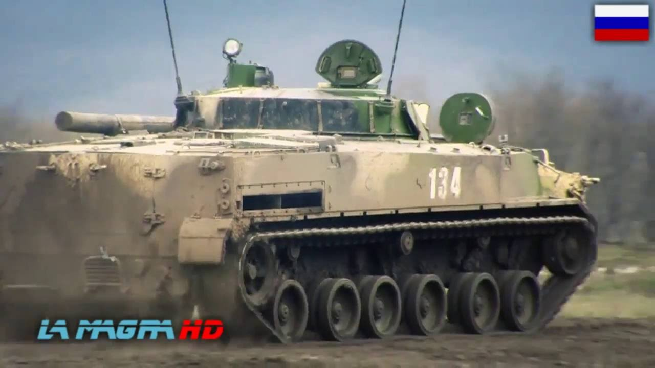 RUSSIAN BMP-3 (БМП-3) - AMPHIBIOUS INFANTRY FIGHTING ...