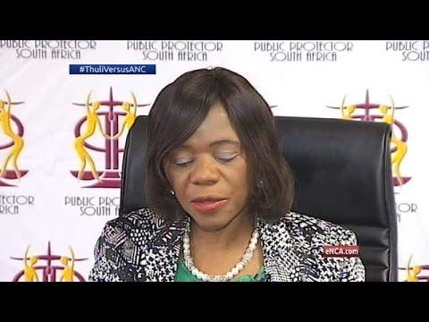 'A senior politician leaked the Nkandla letter' – Madonsela