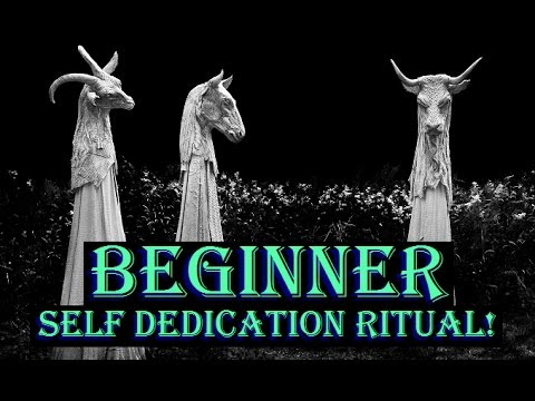 Beginner Self Dedication Ritual | Witchcraft 101