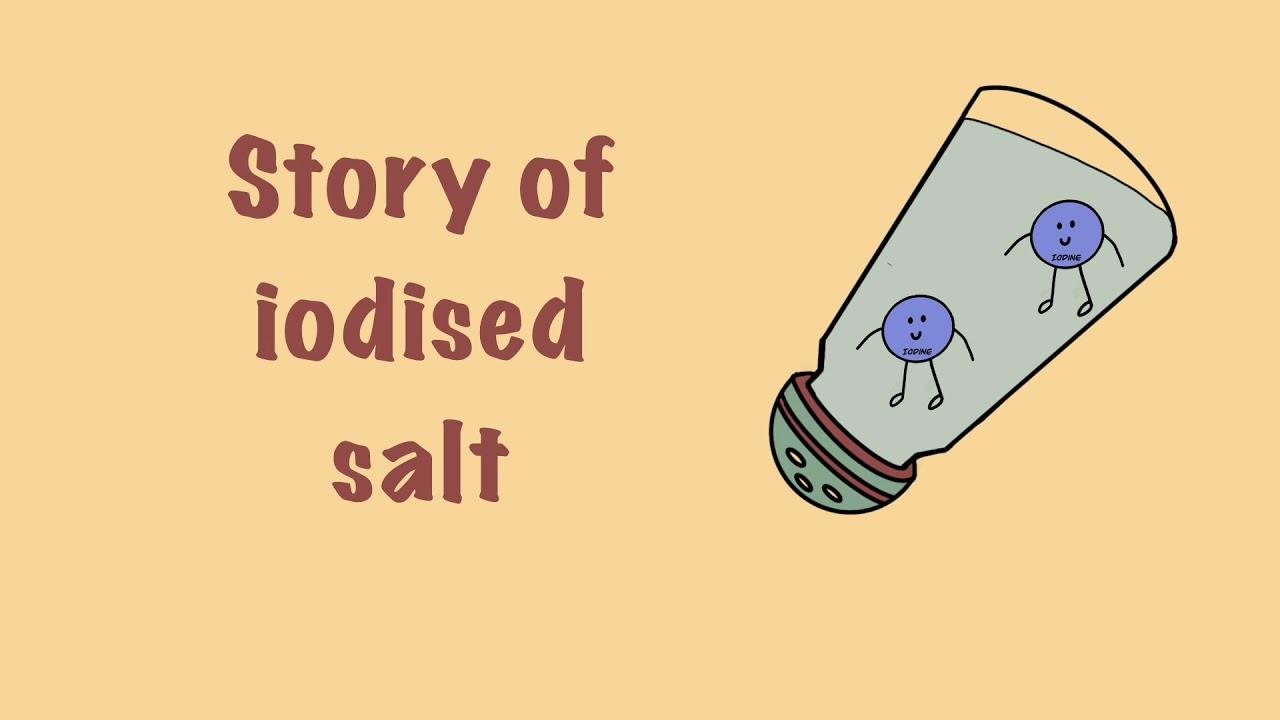 Story of Iodised Salt | आयोदीन नमक की कहानी (English voice over)