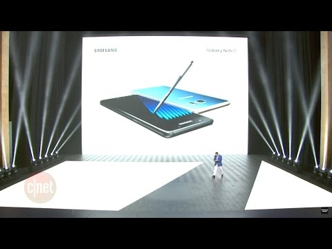 Samsung Galaxy Note 7: Watch the launch event