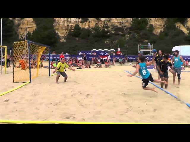 BHC TV - Brighton's British Beach Handball Highlights 2015