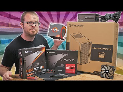 How To Build a $550 Gaming PC in 2020!