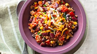 Chipotle Quinoa Chili Recipe