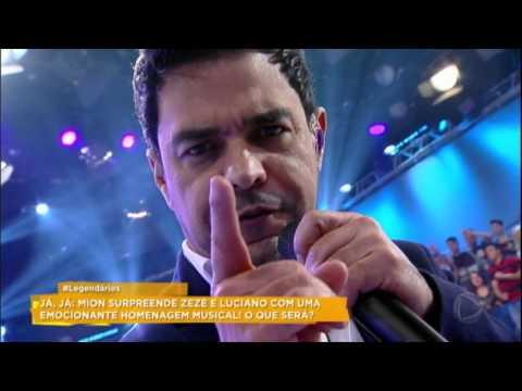 Zezé Di Camargo e Luciano empolgam ao som do clássico Menina Veneno