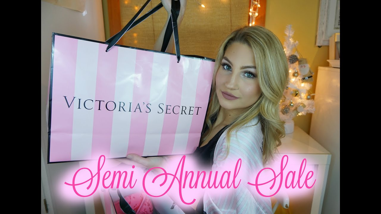 Victoria's Secret Semi Annual Sale Haul 2016 - YouTube