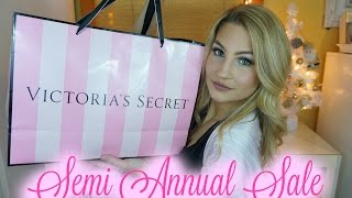 Victoria's Secret Semi Annual Sale Haul 2016