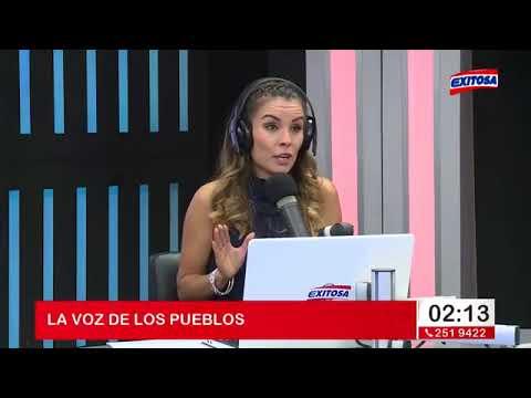 La Voz De Los Pueblos con David Flores por Exitosa programa completo 25/05/18