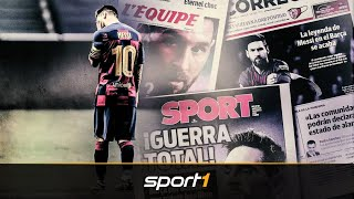 Streikprofi Messi: Wie er jetzt gegen Barca in den Krieg zieht | SPORT1