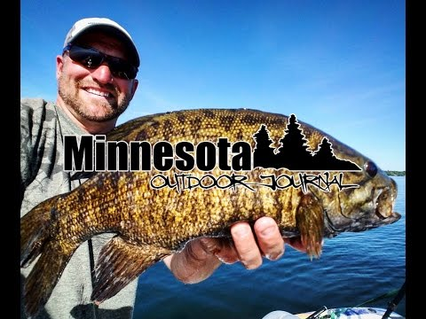 Smallmouth Bass Fishing on Mille Lacs