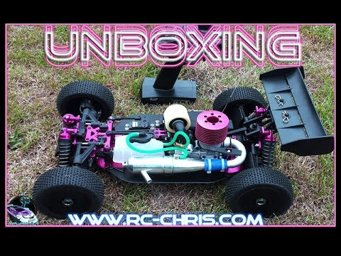 Thunder Tiger EB4 S2.5 PRO Buggy 1:8 (Unboxing)