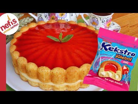 Sıradan Kek Malzemeleriyle DEV KEKSTRA ???? Kolay Kremalı Pasta Tarifi