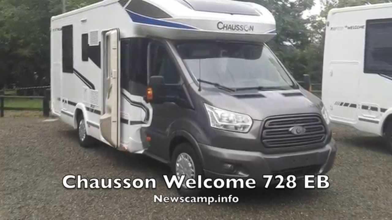 mieux aimé e5166 4168b Chausson Welcome 728 EB 2015