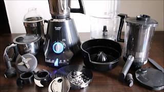 Preethi Zodiac Mixer Grinder - Master Chef Jar Demonstration | Preethi Mixer Grinder