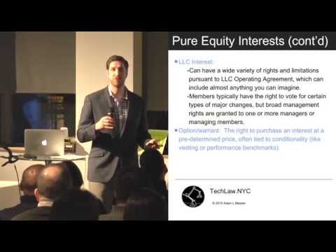 Equity, Debt & Hybrid Interests