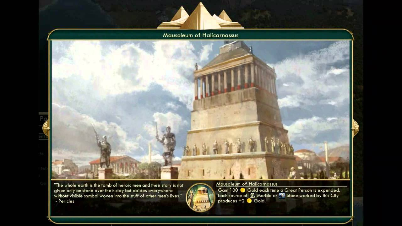 Civilization 5 All Wonders Wonder Quotes With Gods And